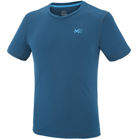 Millet Roc Base Short Sleeve Shirt Men poseidon